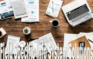 Field Specific Info System Solutions for the Service Industry